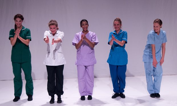 theatre, medicine, nursing, nursing and the arts, kingston nursing