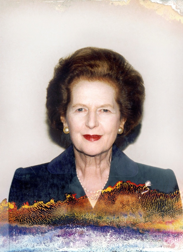 Margaret Thatcher, Lisa Barnard, photography, Tories